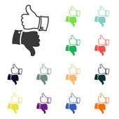 Thumb up icons — Stock Photo