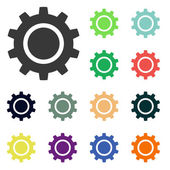 Gear icons — Stock Photo