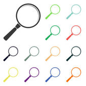 Search icons — Stock Photo