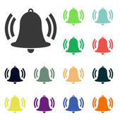 Bell icons — Stock Photo