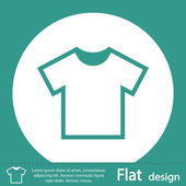 T-Shirt icon — Stock Photo