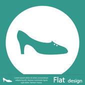 Shoe icon — Stock Photo