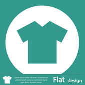 T-Shirt icon — Stock fotografie