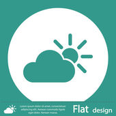 Cloud icon — Stock Photo