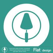 Trowel icon design — Stock Photo