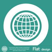 Символ земного шара — Стоковое фото
