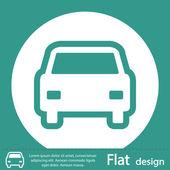 Car icon design — Stock Photo