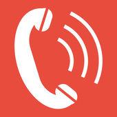 Design do ícone de telefone — Fotografia Stock