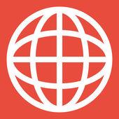 Planet icon design — Stock Photo