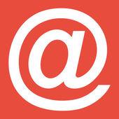 E-mail internet icon — Stock Photo