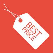 Satılık etiketi simgesi — Stok fotoğraf