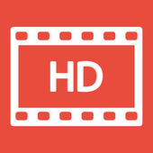 Video frame icon — Stock Photo