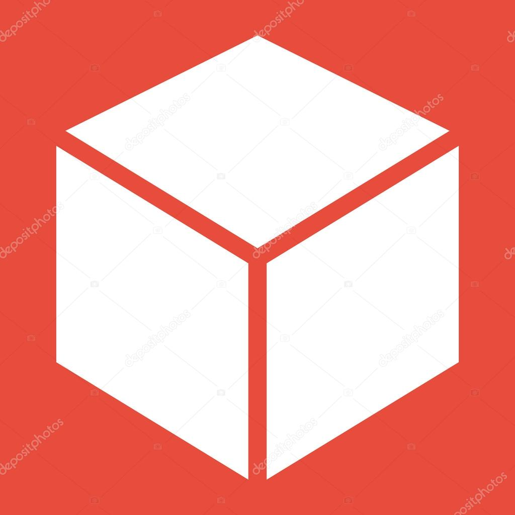 3d Cube Logo Design Icon Stock Photo 51612203