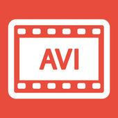 Video frame icon — Stock Photo