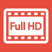 Video frame icon — Foto de Stock