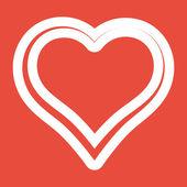 Heart Icon design — Stok fotoğraf