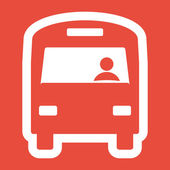 Otobüs simgesi tasarım — Stok fotoğraf