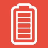 Battery load icon — Stock Photo