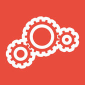 Cogwheel icon design — Stock Photo