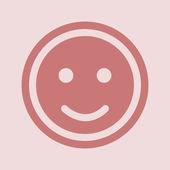 Smile icon design — Stock Photo