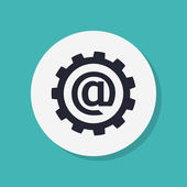 E-mail internet icon — Stock Photo