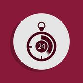 Stopwatch pictogram — Stockfoto