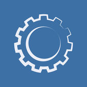 Cogwheel icon — Stock Photo