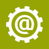Email icon — Stock Photo