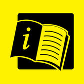 Open book icon — Stock Photo