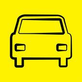 автомобильный символ — Стоковое фото