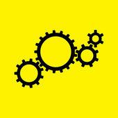 Gears'ın simgesi — Stok fotoğraf