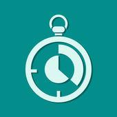 Stopwatch icon — Stock Photo