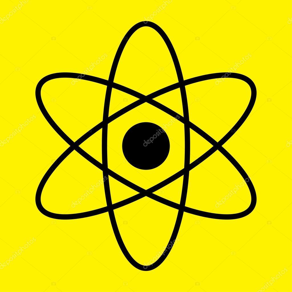 значок физики:
