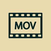 Video icon — Stock Photo