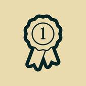 Award icon — Stock Photo