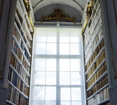 Great biggest library in old abbey — Stockfoto