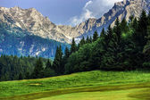 Mountains of Austria, Alps — Stock Photo