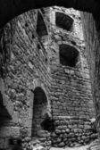 Alsace içinde eski ortaçağ kalesi ortenbourg — Stok fotoğraf