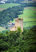 Old medieval fortress Ramstein in Alsace — Stock Photo