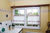 Renovated pvc windows — Stock Photo