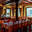 Village restaurant interior — Stock Photo #49004445