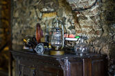 Old medieval castle interior — Stock Photo