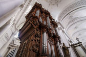 Abbey cathedral interior — Stock Photo