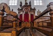 Village church interior — ストック写真