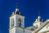 Orthodox church towers, Moscow, Russia — Stock Photo