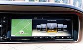 Luxus-auto-innenraum-details — Stockfoto