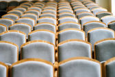 Empty chairs in concert hall — Stock Photo