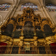 Majestic cathedral interiors — Stock Photo #49568665
