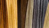 Wooden coverage types set — ストック写真