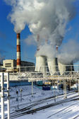 Central Heating and Power Plant — Stock Photo